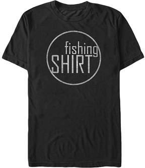 Fifth Sun Black 'Fishing Shirt' Crewneck Tee - Men