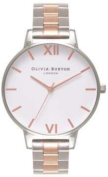 Olivia Burton Women's Big Dial Bracelet Watch, 38Mm