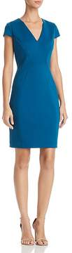T Tahari Elizabella Seamed Sheath Dress