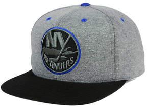 Mitchell & Ness New York Islanders Heather Snapback Cap