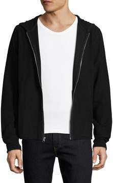 Joe's Jeans Men's Steven Zip Cotton Hoodie