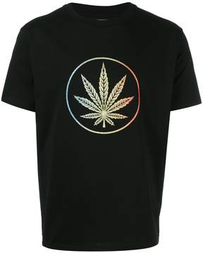 Palm Angels leaf print T-shirt