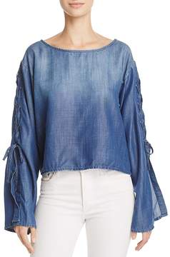 Bella Dahl Lace Sleeve Top - 100% Exclusive