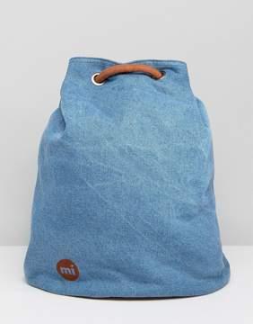 Mi-Pac Mi Pac Tumbled Swing Backpack in Denim