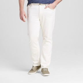 Mossimo Men's Big & Tall Straight Fit Jeans Natural Wash