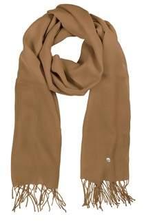 Mila Schon Women's Brown Wool Scarf.