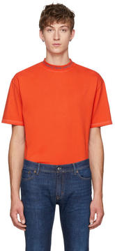 Acne Studios Orange Gojina Dyed T-Shirt