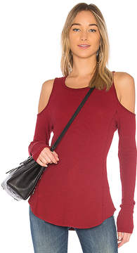 Bobi Modal Thermal Cold Shoulder Top