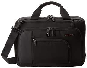 Briggs & Riley Verb Contact Small Brief Briefcase Bags