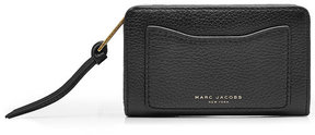 Marc Jacobs Compact Leather Wallet - BLACK - STYLE
