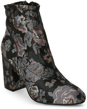 Kenneth Cole Reaction Black Time For Fun Brocade Block Heel Boots