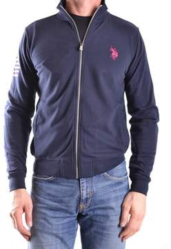 U.S. Polo Assn. Men's Blue Cotton Sweatshirt.
