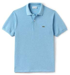Lacoste Men Short Sleeve Classic Chine Fabric Original Fit Polo - 3XL - Blue