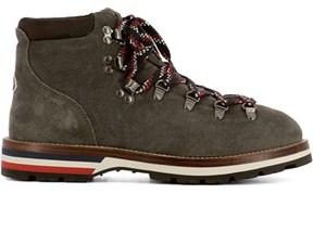 Moncler Men's Brown Rubber Hi Top Sneakers.
