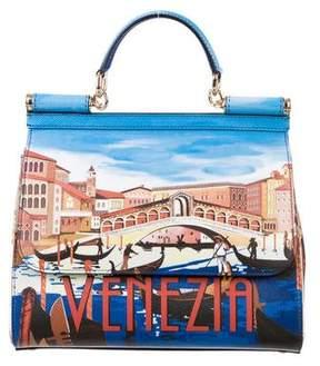 Dolce & Gabbana 2016 Miss Sicily Venezia Bag - BLUE - STYLE