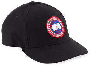Canada Goose Core Logo-Patch Baseball Hat