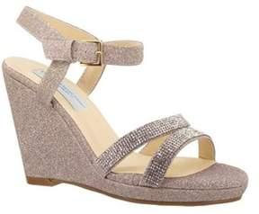 Dyeables Women's Amy Platform Sandal.