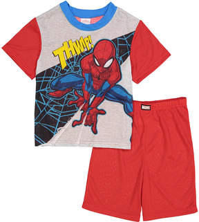 Spiderman 'Thwip!' Two-Piece Pajama Shorts Set - Boys