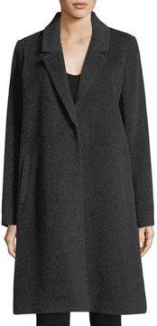 Eileen Fisher Baby Alpaca Knee-Length Coat