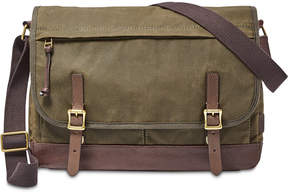 Fossil Men's Waxed Canvas Defender Messenger Bag