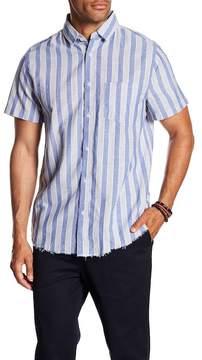 Sovereign Code Port Stripe Short Sleeve Regular Fit Shirt
