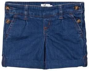 Cyrillus Mid Wash Denim Shorts