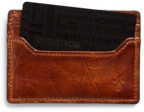 Frye Men's 'Logan' Leather Card Holder - Brown