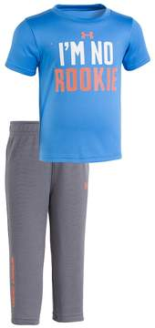 Under Armour Baby Boy I'm No Rookie Tee & Pants Set