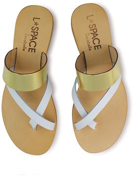 Cocobelle Iris Cross Front Bi-Color Sandal