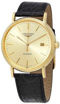 Longines Presence Automatic Gold Dial Men's Watch