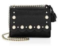 Kate Spade Hazel Faux Pearl Leather Shoulder Bag
