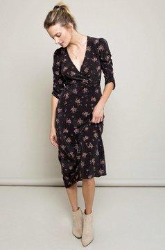 Lily Ashwell Poppy Dress - Rosebud Silk