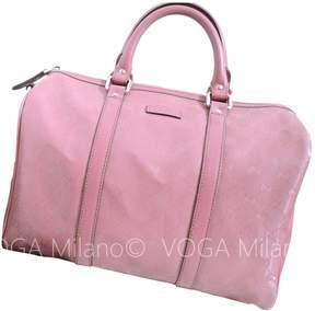 Gucci Boston leather bowling bag - PINK - STYLE