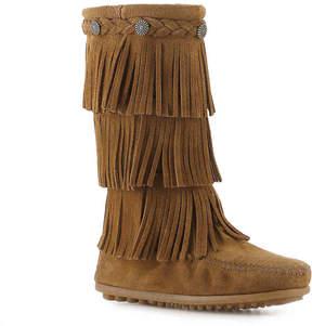 Minnetonka Girls 3 Layer Fringe Toddler & Youth Western Boot