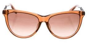 Bottega Veneta Intrecciato Gradient Sunglasses