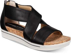 Adrienne Vittadini Claud Sport Flatform Sandals Women's Shoes