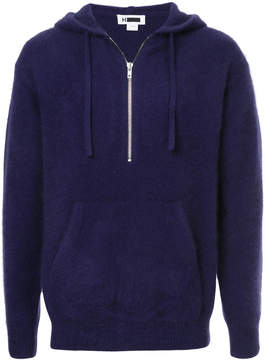 H Beauty&Youth textured hoodie