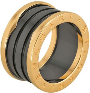 Bvlgari B Zero 18kt Pink Gold Ring - Size