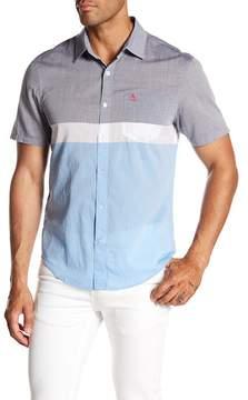 Original Penguin Colorblock Short Sleeve Slim Fit Shirt