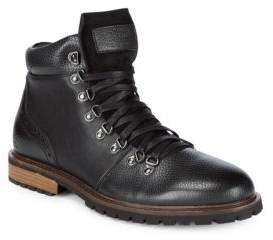 Original Penguin Neville Alpine Leather Ankle Boots