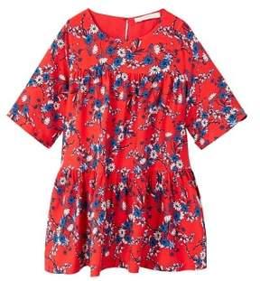 MANGO Floral pattern dress