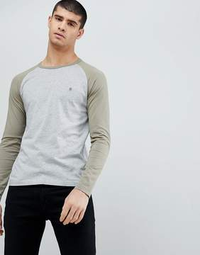 French Connection Raglan Long Sleeve Top