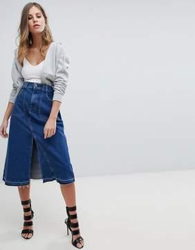 Diesel Midi Denim Skirt