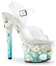 Pleaser USA Women's Sky 308mermd Ankle-strap Sandal.