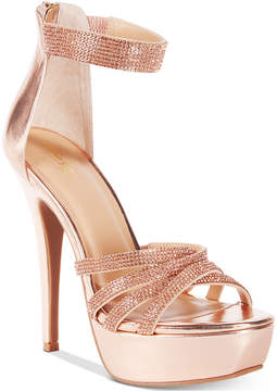 Thalia Sodi Remmy Platform Evening Sandals, Created for Macy's Women's Shoes