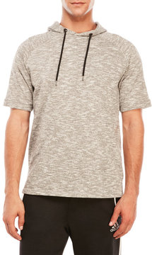 Ocean Current Short Sleeve Hooded Fleece