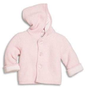 Kissy Kissy Baby's Hooded Knit Jacket
