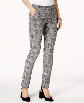 Alfani Plaid Slim-Leg Pants, Created for Macy's