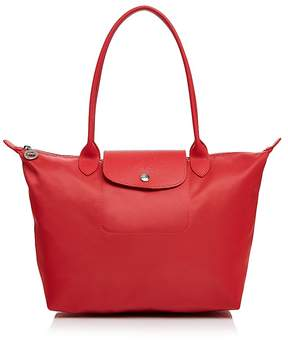 Longchamp Le Pliage Neo Medium Tote - 100% Exclusive - PEONY/SILVER - STYLE