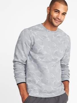 Old Navy Go-Dry Double-Knit Camo Sweatshirt for Men